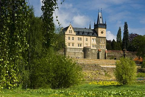 Křivoklát, a royal castle from the beginning of the 13th century, photo by: Archiv Vydavatelství MCU s.r.o.