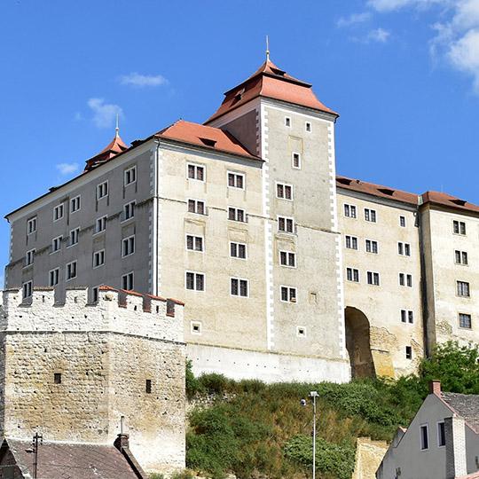 Benátky nad Jizerou – nádvoří renesančního zámku, foto: Archiv Vydavatelství MCU s.r.o.